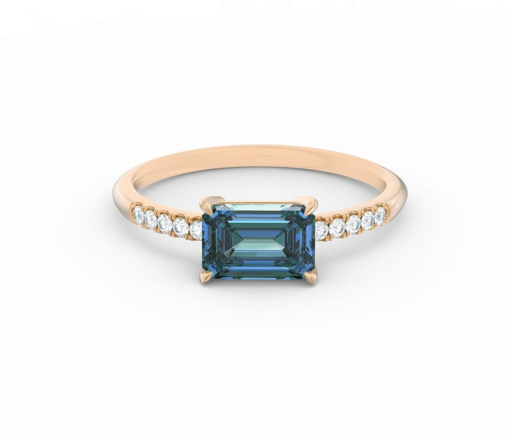 the lisa sapphire ring