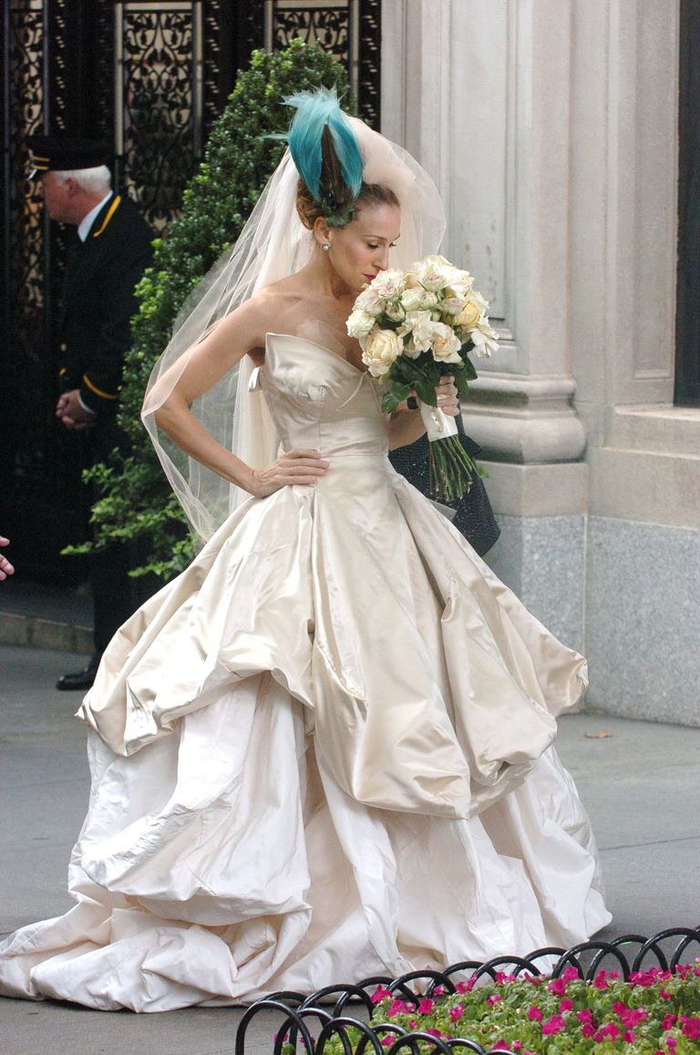 Sex and the city wedding dress