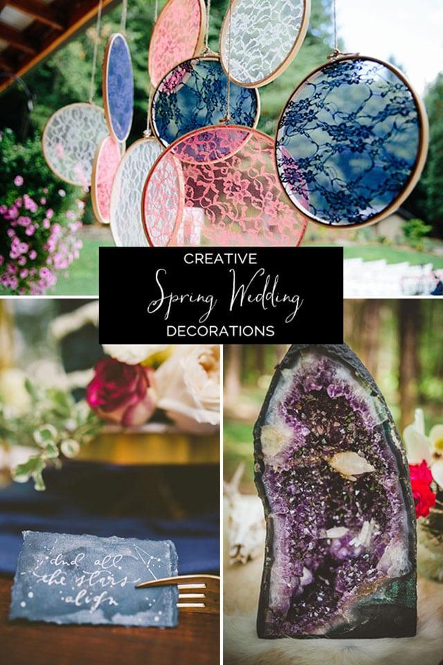 Creative Ideas for Spring Wedding Decor