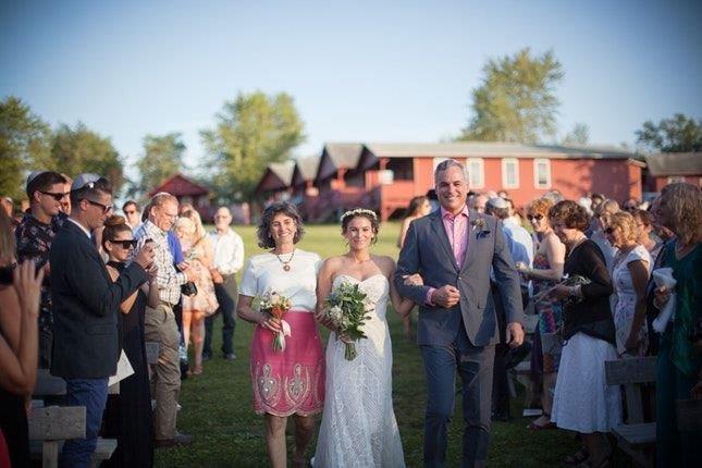 Camp Starlight Retreats Wedding