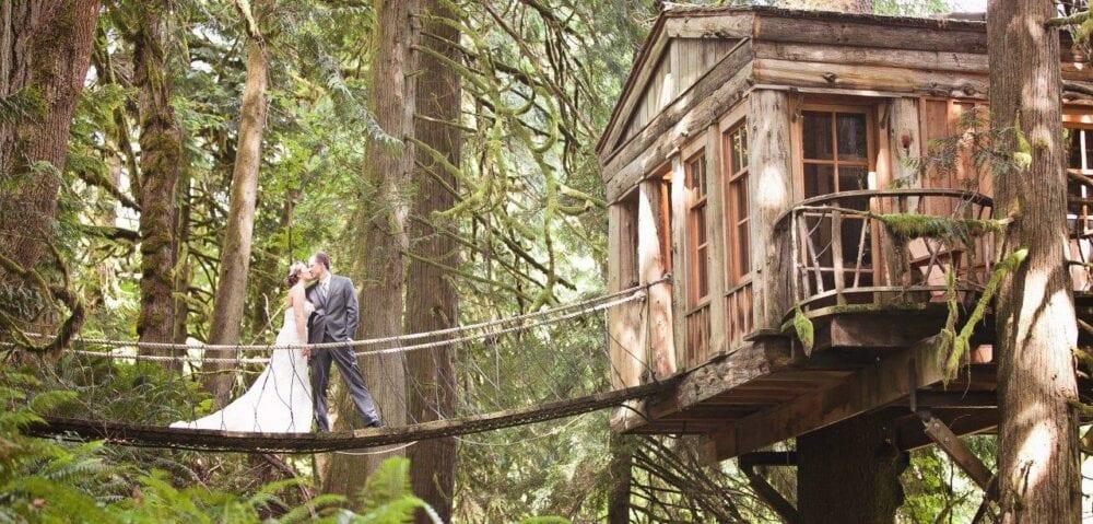 Treehouse Point Wedding Venue