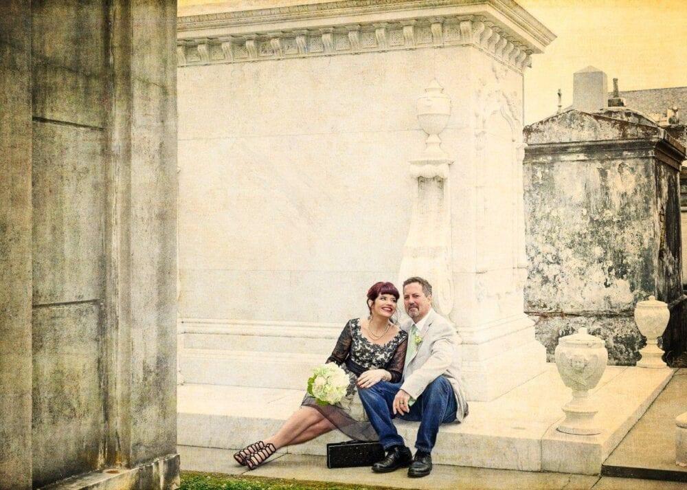 new orleans cemetery weddings