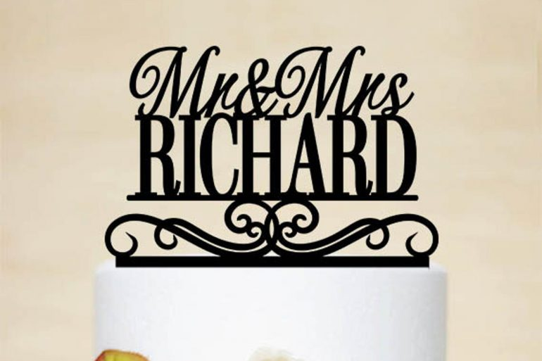 Custom Acrylic Topper from Acrylic Design For You