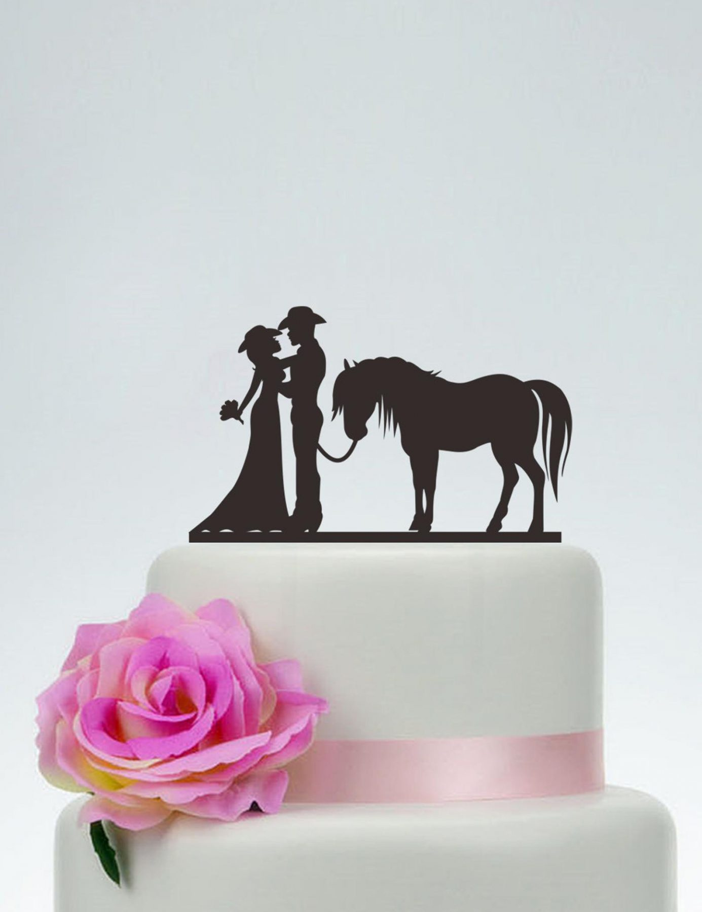 Cowboy Silhouette Topper from Special Design For You