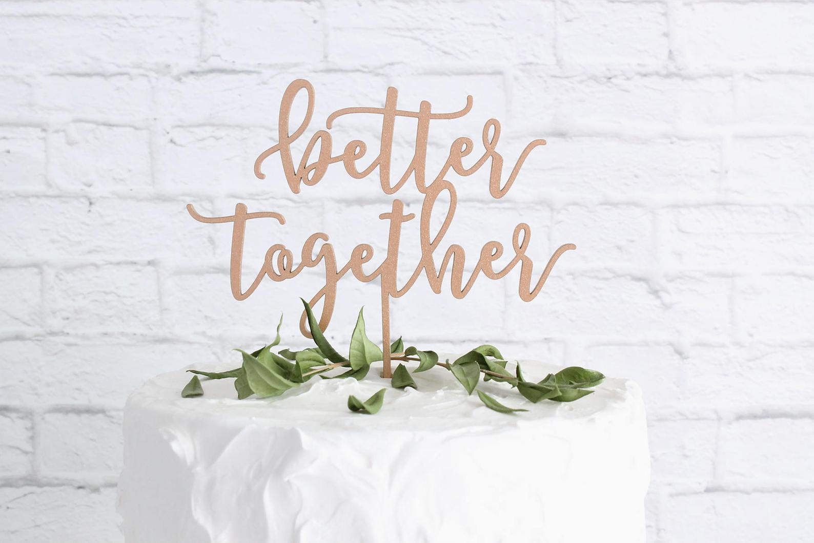 Better Together Topper from the Duo Studio