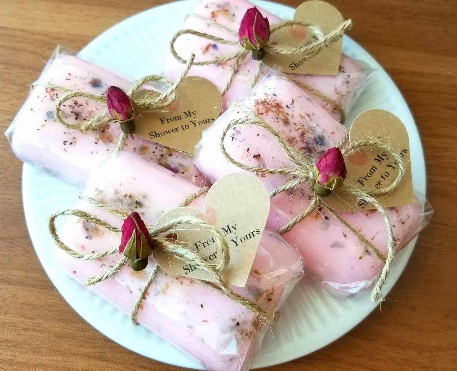 Blush Mini Bar Soaps from The Little Soap Store