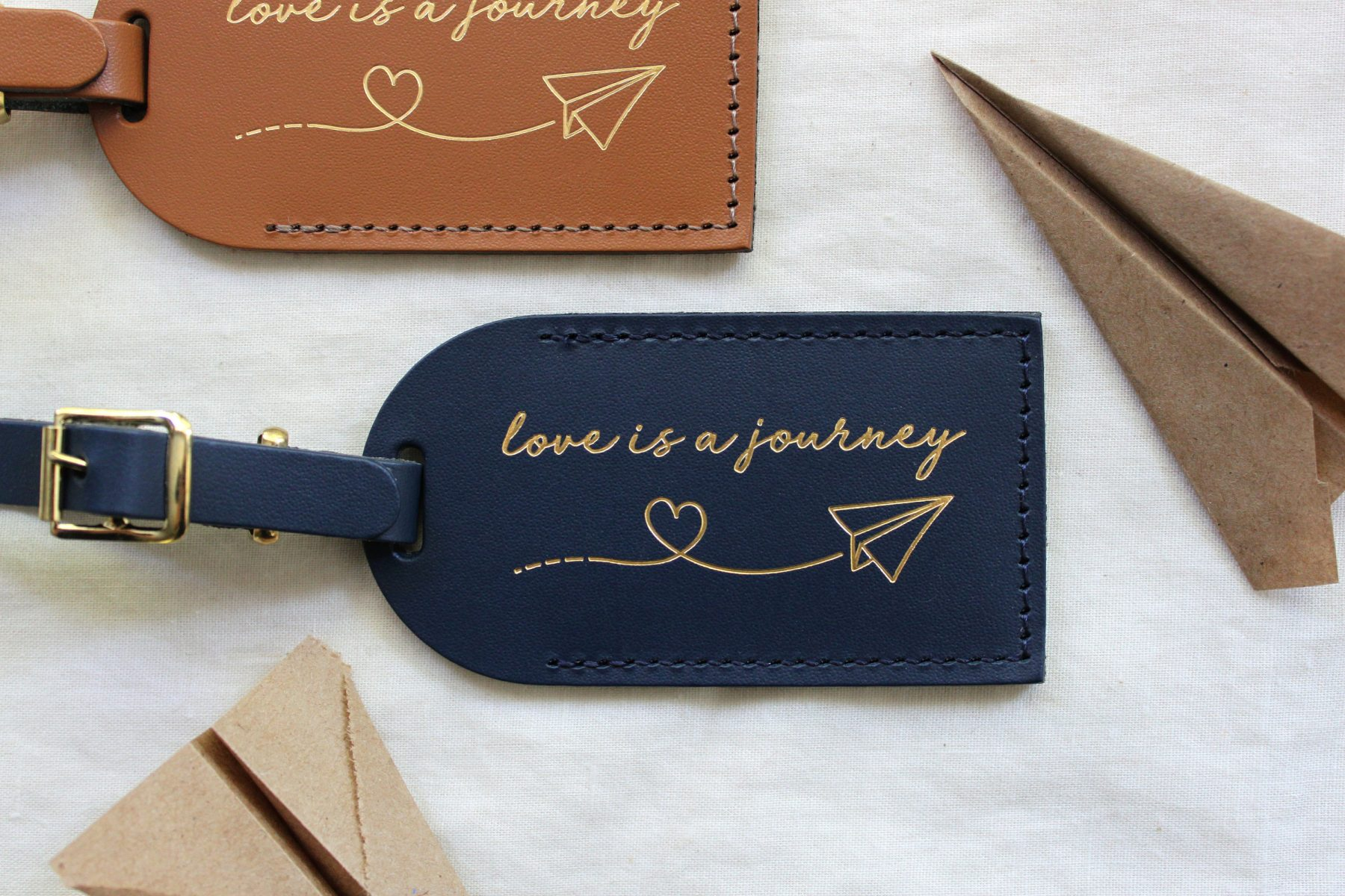 luggage tags wedding favors