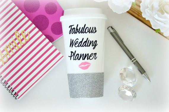 Planner Personalized Coffee Tumbler
