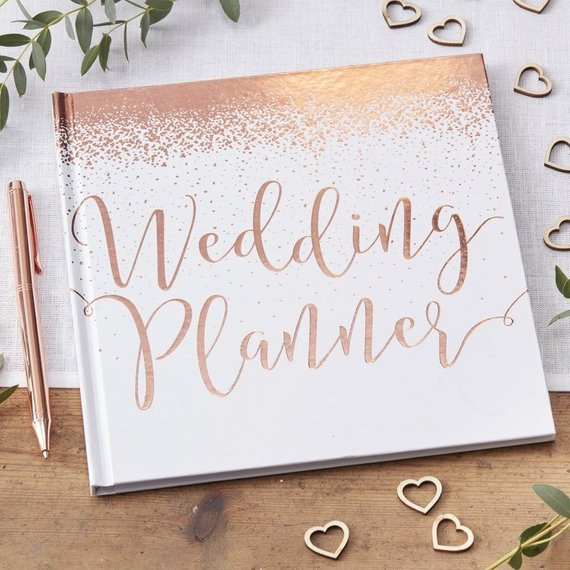 wedding planner book gift