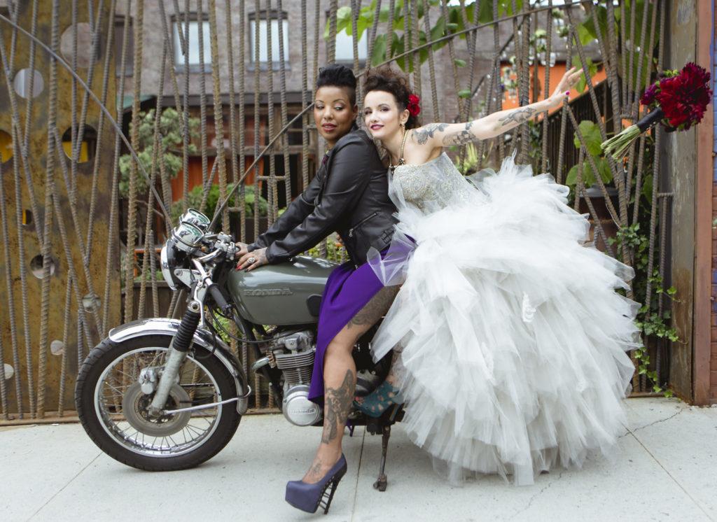 wedding motorocycle transportation