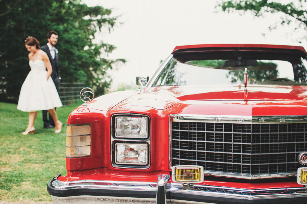Vintage Car Wedding Transportation Ideas