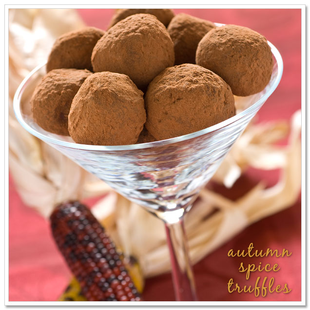 DIY Wedding Favors: Autumn Spice Truffles