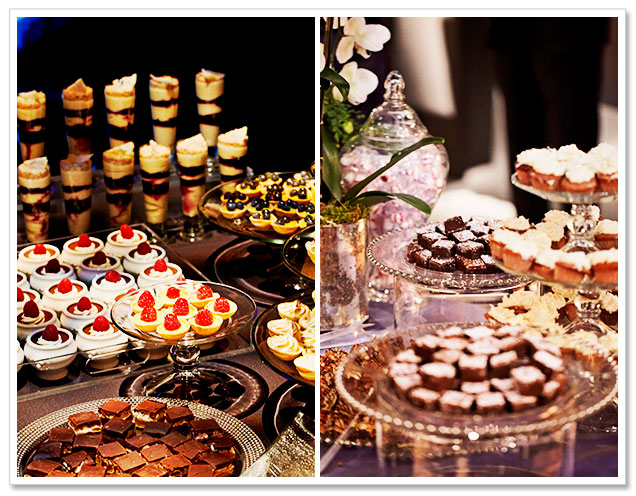 Tips for Creating a Drinks and Dessert Bar at a Wedding by Canard, Inc.
