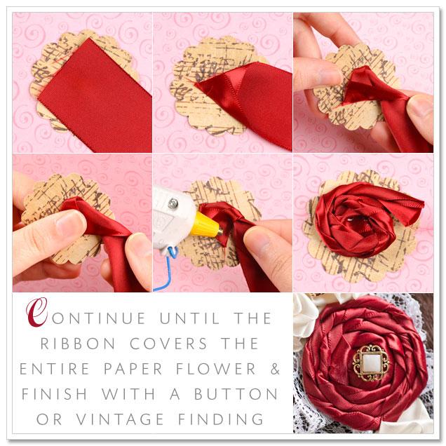 DIY Project: Romantic Rose Headband