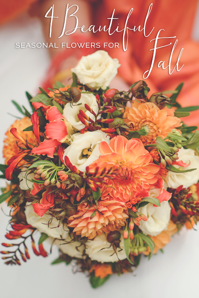 What's In Season: Guide to Fall Wedding Flowers