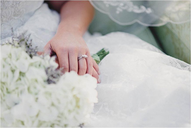A classic bridal session at a history museum in Virginia | Audrey Ruth Photography: audreyruthphotography.com