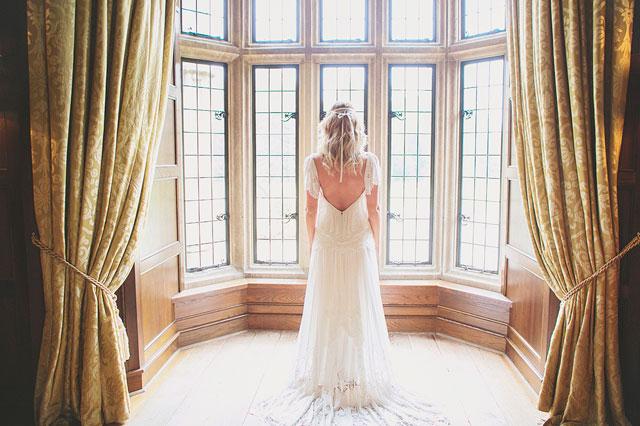 An ethereal and bohemian bridal inspiration shoot at a castle in Ireland   Grace Photography: http://www.gracephotographyni.com