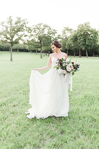 Stunning heirloom bridal portraits in The Grove in Texas by Gray Door Photography