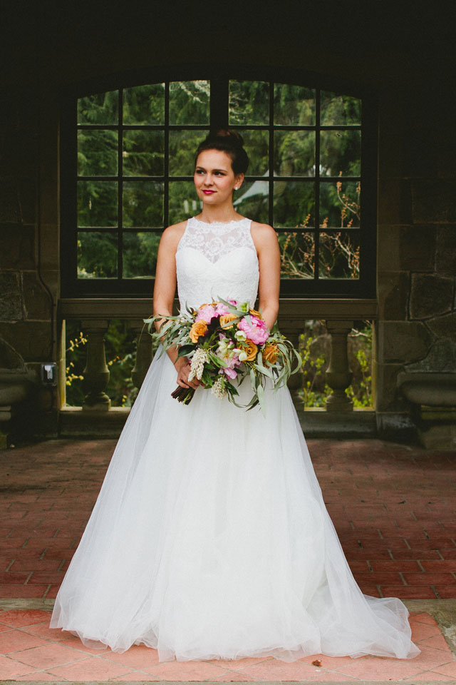 A sweet and romantic bridal session at Hatley Castle by Shantal Marie Creative