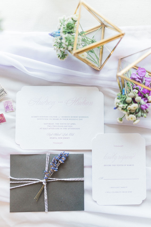 A spring pastel bridal inspiration shoot with an adorable yorkie pup by Sincerely, Emelia