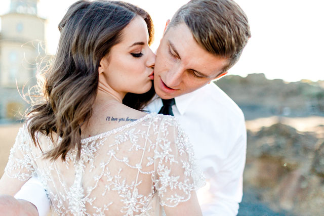 A whimsical yet romantic winery wedding inspiration shoot in Eastern Washington by Alex Lasota Photography