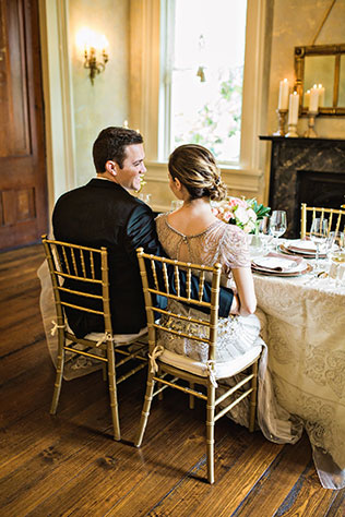 A Downton Abbey inspiration shoot with a Southern twist by Amilia Photography