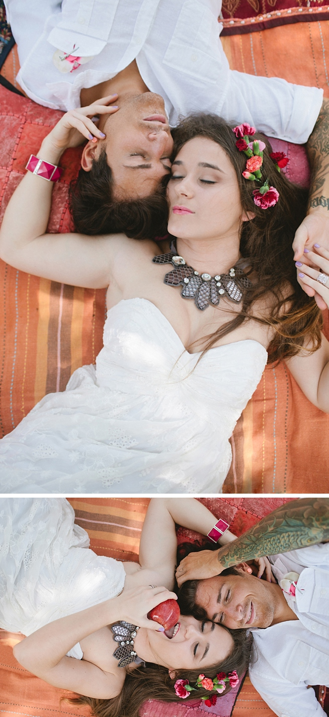 Bohemian Picnic Inspiration Shoot by Angela Cardenas Photography
