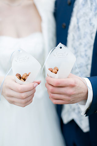 A German fairy tale wedding inspiration shoot styled after Three Hazelnuts for Cinderella by Anna Mardo
