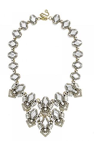 Deco Diamond Bib | Ideas for a Glam Art Deco Wedding