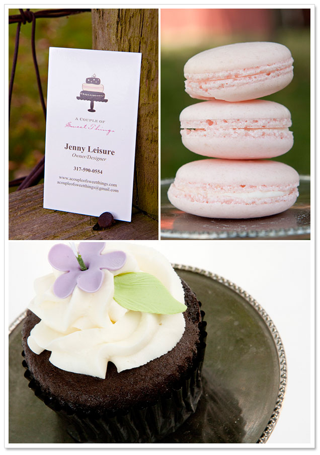 Rustic Dessert Inspiration by A Couple of Sweet Things and Becky Brown Photography on ArtfullyWed.com