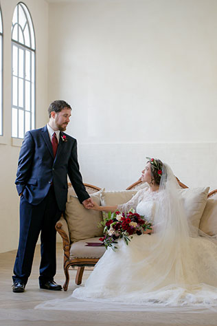 A marsala wedding inspiration shoot in New Orleans with bohemian flair | Brocato Photography: http://www.brocatophoto.com | It's Your Time Events: https://www.itsyourtimeevents.com