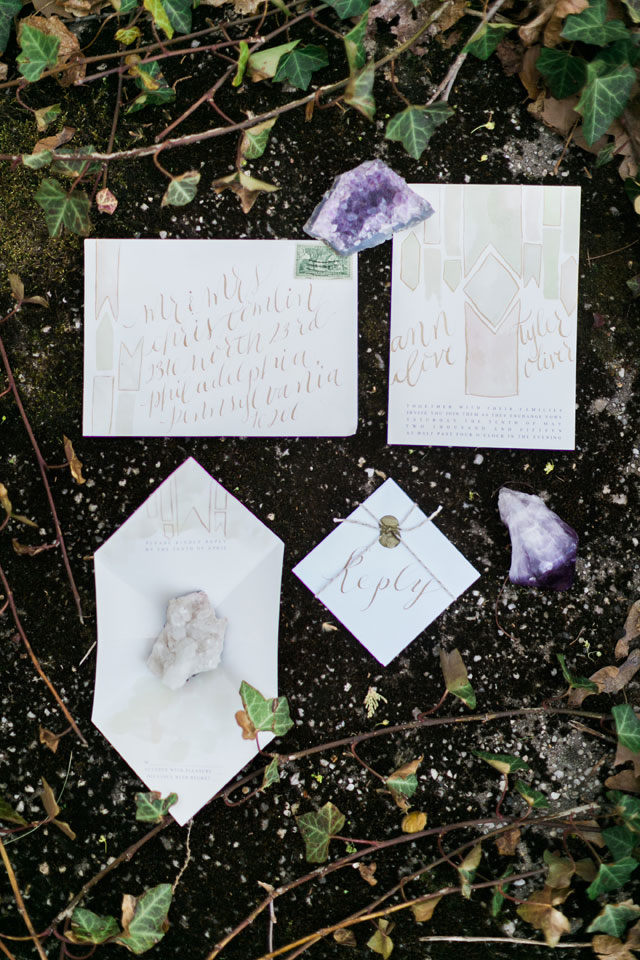 Creative Ideas for Spring Wedding Decor: Rocks, Crystals & Geodes