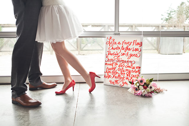 A sweet Valentine's Day wedding styled shoot | Cat Tetreault Photography: http://cattetreaultphotography.org
