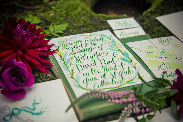 A whimsical and colorful Rivendell wedding styled shoot in an enchanted forest by Catch Studio