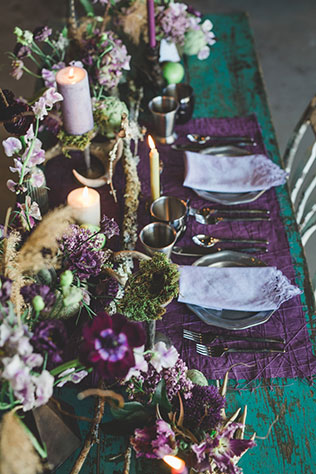 A dark and moody autumn craft brewery wedding inspiration shoot inspired by Brewery Legitimus' Witches Brew by Corey Lynn Tucker Photography