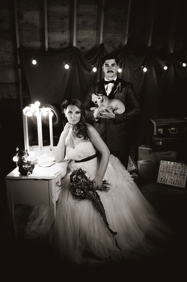 A darkly romantic and mysterious old world circus styled shoot | Custom by Nicole Photography: www.custombynicole.com