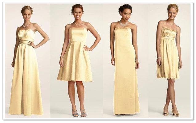Mix-and-Match Bridesmaid Dresses at David's Bridal