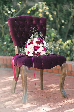 A beautiful berry hued al fresco Mediterranean wedding inspiration shoot by Daybreak + Dusk Photography
