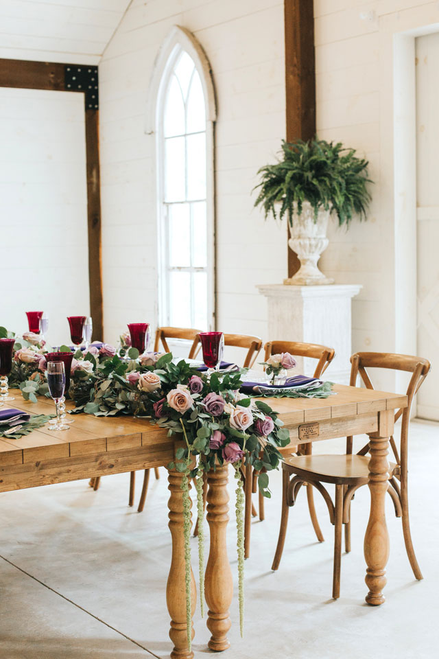 A styled shoot inspired by the love of the fallen, with an elegant lavender and white color palette, by Daylin Lavoy Photography and Modern Chic & Shabby Events by Joe-Annie