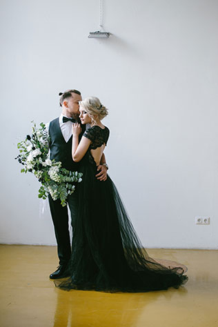An industrial Russian styled shoot inspired by a rock musician's wedding story by Dmitry Pavlov