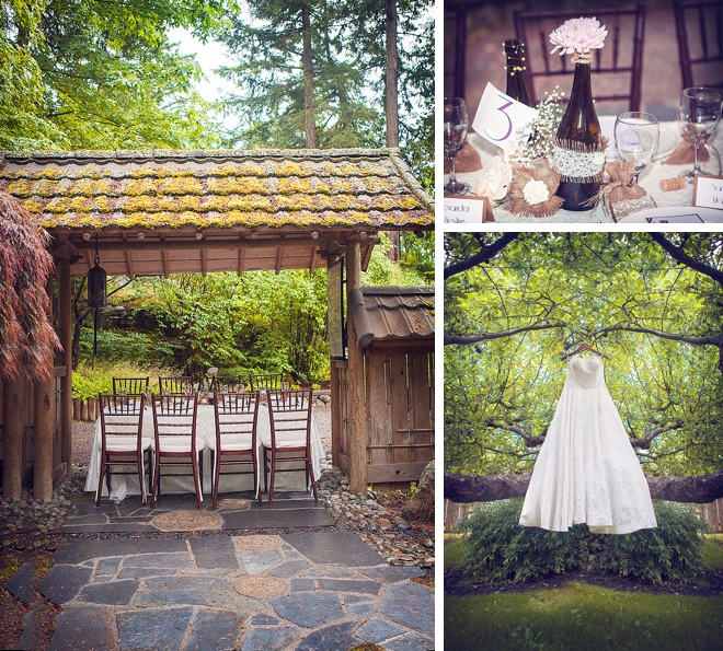 Vintage Lace, Burlap and Wine Wedding Inspiration Shoot by Elisita Photography