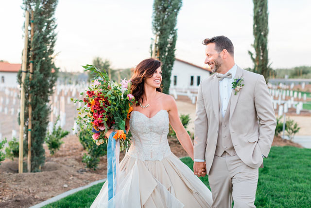 A vibrant summer elopement styled shoot blending boho chic and industrial glam by Elle Lily Photography and Videography