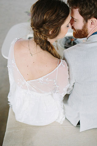 This We Own The Night wedding styled shoot evokes the feeling of a boho city elopement with romantic and natural details | Ellen Ashton Photography