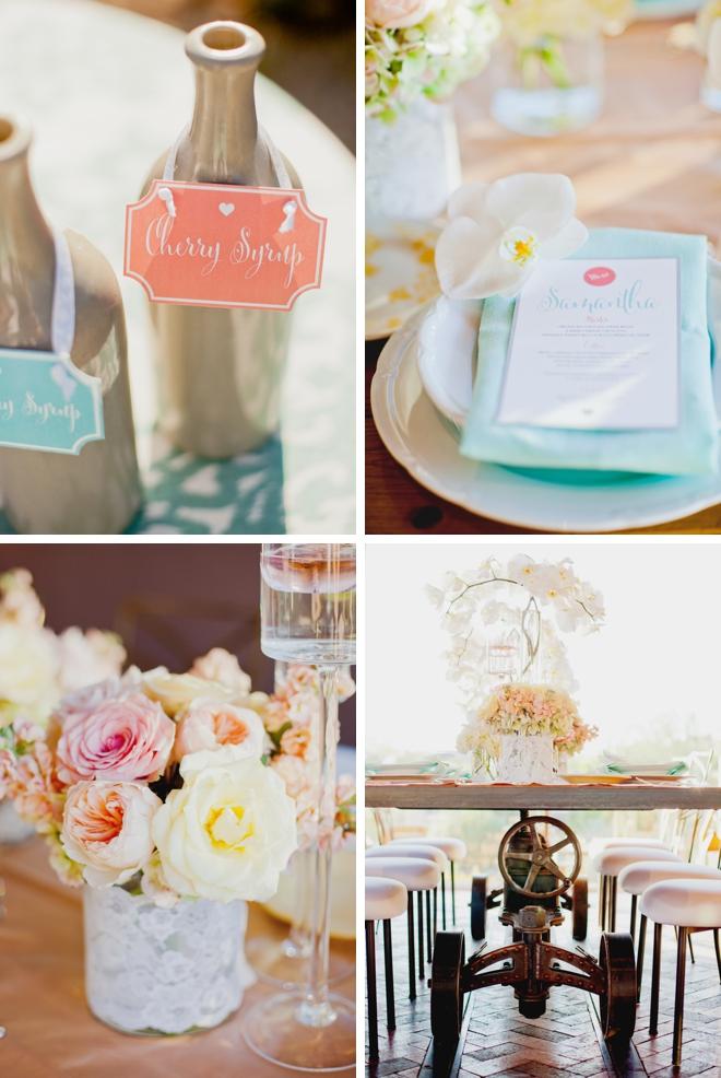 White Wedding Inspiration by Elyse Hall Photography