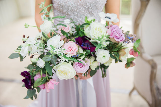Beauty in the Hedges is a feminine and romantic styled shoot with lavender and blush hues and an eclectic vibe by Oh! Such Style and Sweet Events Photography