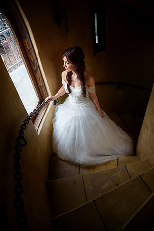 A fairy tale Beauty and the Beast wedding inspiration shoot in Lobo Castle by f27 Photography
