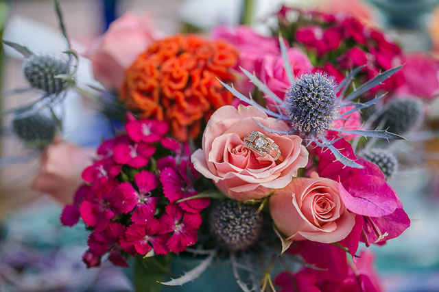 A vibrant and colorful Mexican styled bridal shower by Great Woodland Photography