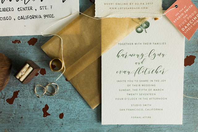 A bohemian yoga inspired styled shoot with geometric details, terrariums, and gorgeous calligraphy by Heather Elizabeth Photography and #24KVendor Blue Daphne