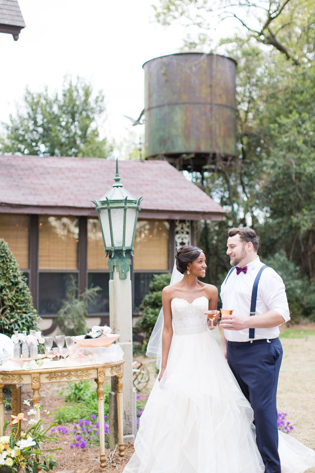 A Southern art nouveau wedding styled shoot inspired by the artistic work of Alfons Mucha by Ivey Gibb Photography and Salt + Silk Weddings