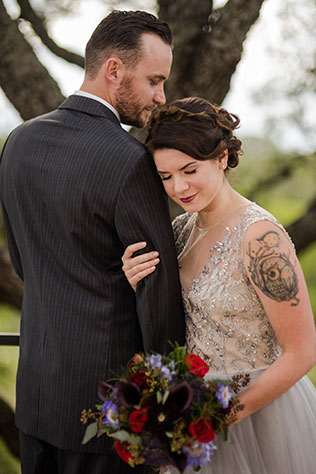 A Texas vineyard wedding styled shoot in the heart of Hill Country by Katie Corinne Photography
